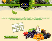 Oragnic Solutions for Optimal health