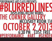 #BlurredLines Promotion Poster