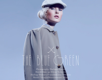 THE BLUE GREEN/fashion editorial