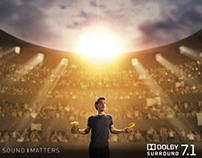 DOLBY 7.1 PRINT CAMPAIGN