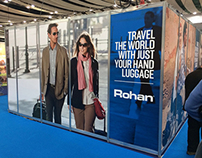 Rohan DESTINATIONS travel show exhibition