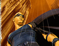 Riddick, The Pulp Cover