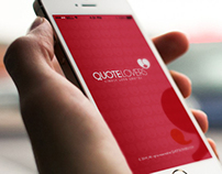 QuoteLovers CI & App design