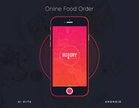 Online Food Order Apps - UX-UI Design