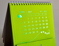 2014 Table Calendar for ANTALIS