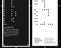 cartes de voeux 2009-2012