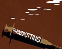 Fan boy Film Poster - Trainspotting poster