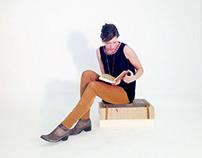 Uffie Inspired Fireside Sitting Stool
