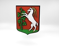 Lublin 3D coat of arms