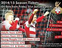 Doncaster Rovers Season Ticket Launch