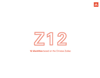 Z12: 12 Identities based on the Chinese Zodiac