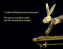 Driftwood Animal Automata Website