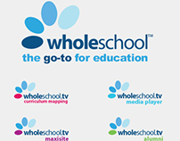 Brand Identity for Wholeschool software