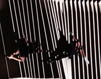 Visuals for vertical dance performance