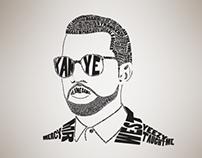 Typography - Kanye West