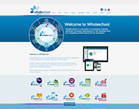 Website & Icon design for Wholeschool Software