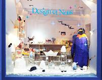 Design et Nous - windows display