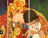 The Kiss, by Klimt