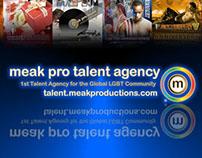 Meak Productions' Talent Agency Campaigns Prt 3 2007-14