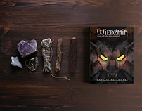 The Witcher - book illustrations design