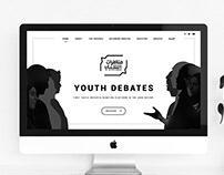 Youth Debates Website Design