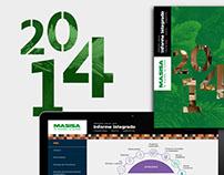 Informes Integrados Masisa, 2014