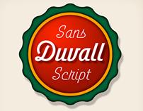 Duvall Sans Script