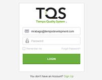 TQS Web Application design