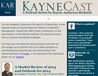 KayneCast Email Campaign
