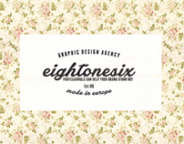 Vintage Label With Floral Background (Free Download)