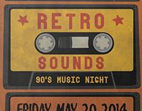 Retro Sounds Flyer