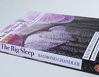 The Big Sleep Penguin book cover re-design