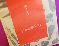 Embalagem de Yakissoba