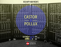 Flyer for Castor & Pollux