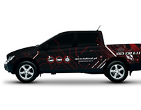 Ssangyong Actyon Sport Wrapping