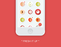"""Fresh It Up"" - App Design"