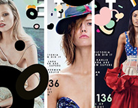 Sunday Times Style - Spring Issue Covers