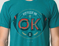 T-Shirt: Fittest in OK II