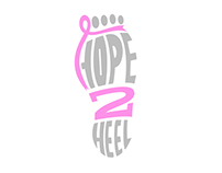 Hope 2 Heel Logo Design