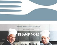 Cooking Class Thank You Card