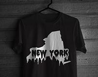 New York Drip Tee