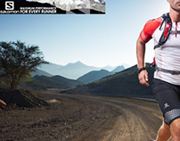 Sports Advertising Salomon and 2XU