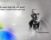 Thomas Edison web banner