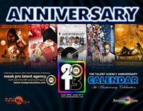 Meak Productions' Poster Calendar Project 2013