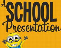 A school presentation