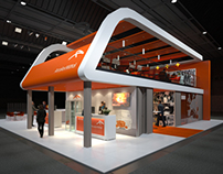 Stand concept for Arcelor Mittal