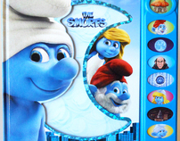 """The Smurfs"" Play-a-Sound book"