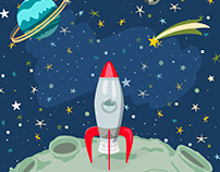 Animated Rocket Project