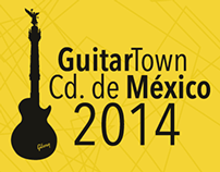 GuitarTown Cd. México Website 2014