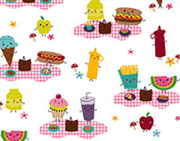 It's picnic time! novelty pattern
